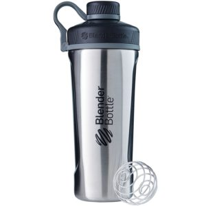 BlenderBottle Insulated Stainless Steel Shaker Bottle, 26-Ounce