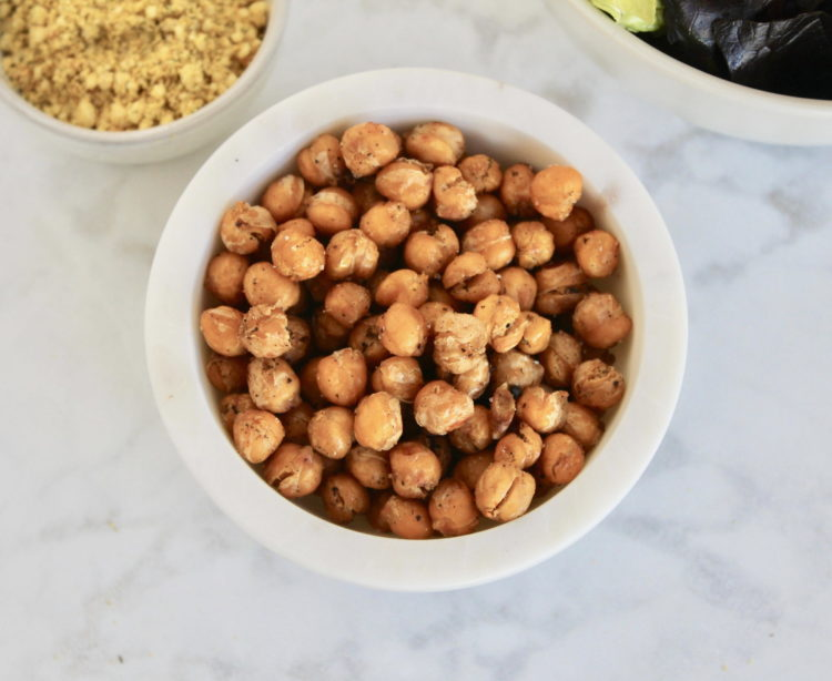 Vegan Chickpea Crouton Recipe
