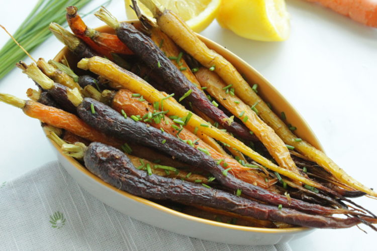 Rainbow-carrots-roasted