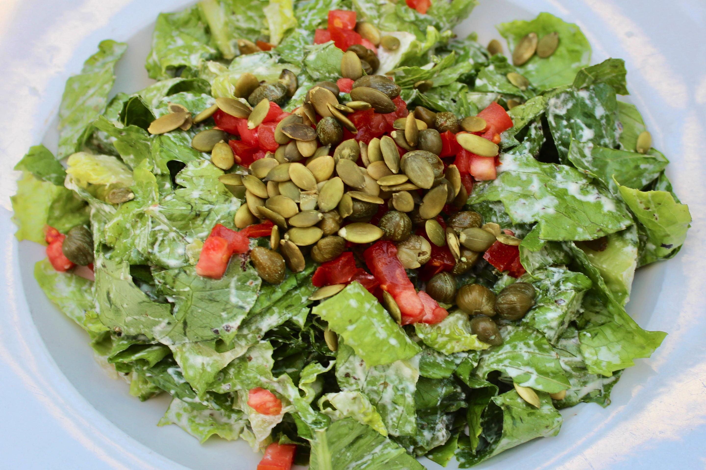 SunCafe Vegan Caesar Salad