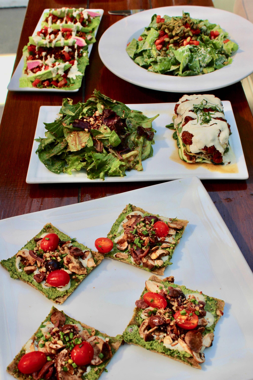 SunCafe Raw Vegan Restaurant Food